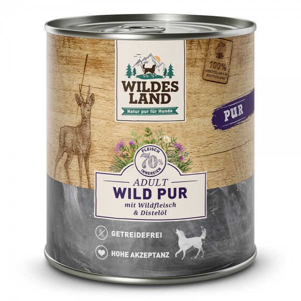 Wild Pur mit Distelöl