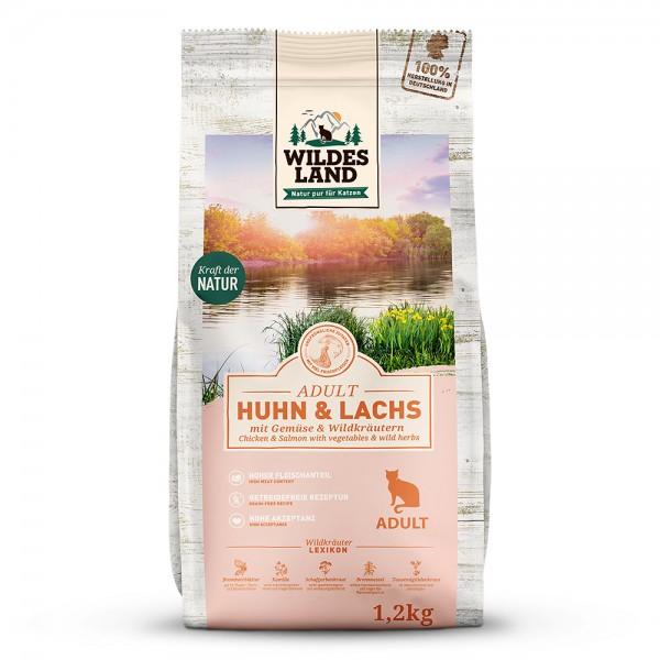 Huhn & Lachs mit Gartengemüse