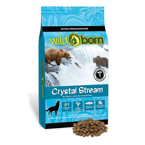 Wildborn Crystal Stream (Forelle, Lachs, Süßkartoffel)
