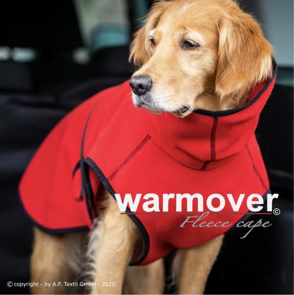 Warmover fleece cape red fire