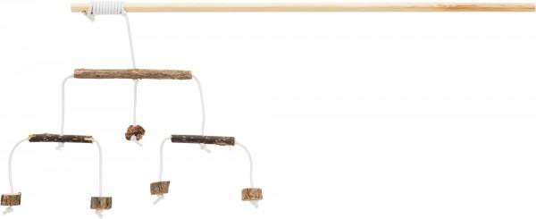 Spielangel mit Matatabi-Sticks, 50 cm