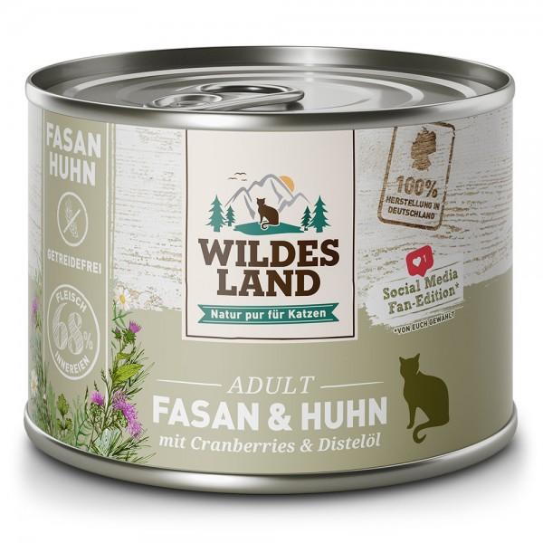 Fasan & Huhn mit Cranberries und Distelöl
