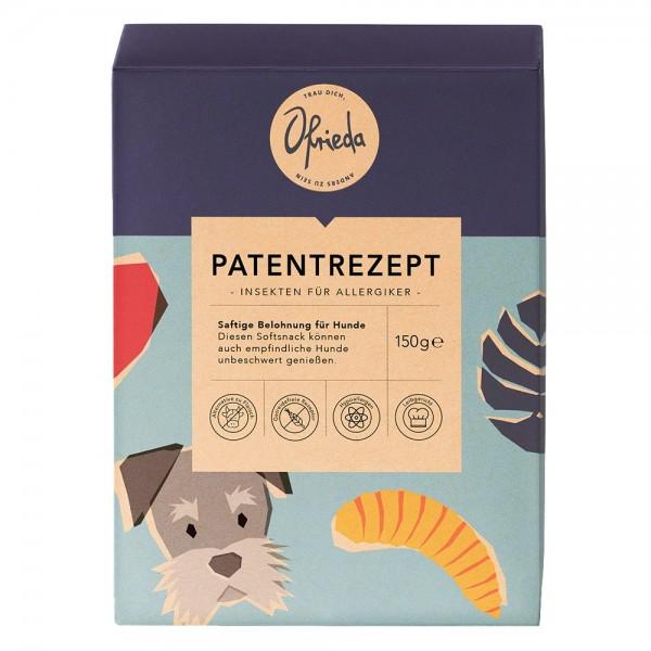 Patentrezept - Feiner Softsnack mit Insekten für Allergiker