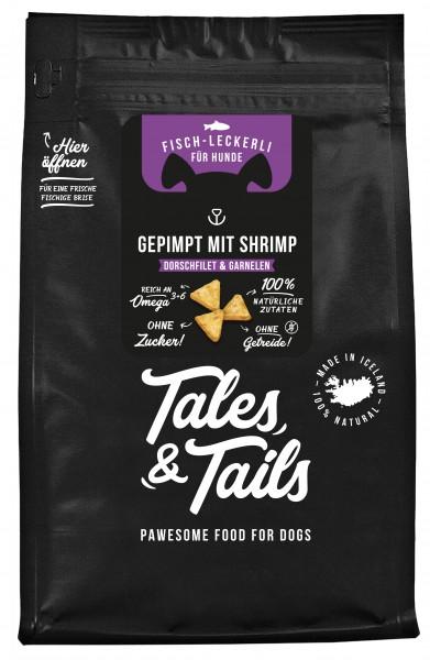 """""""Gepimpt mit Shrimp"""" - Fischleckerli Dorsch & Garnelen"""