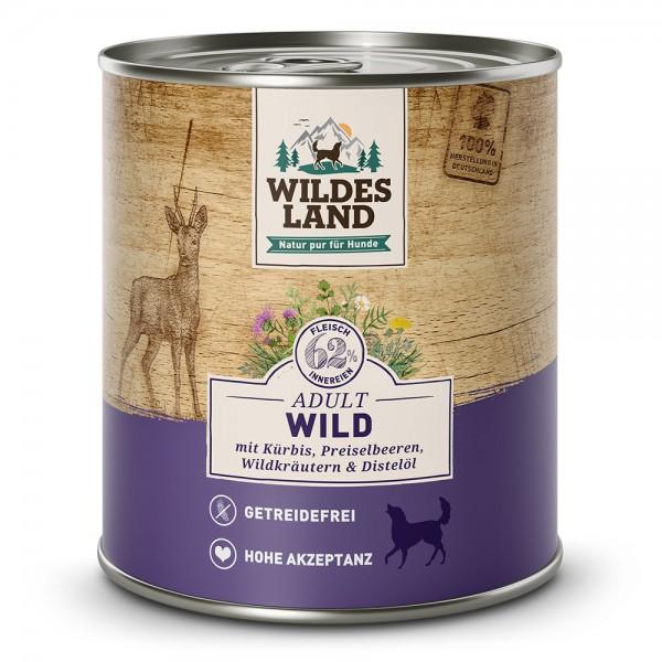 Wild mit Kürbis, Preiselbeeren, Wildkräutern & Distelöl