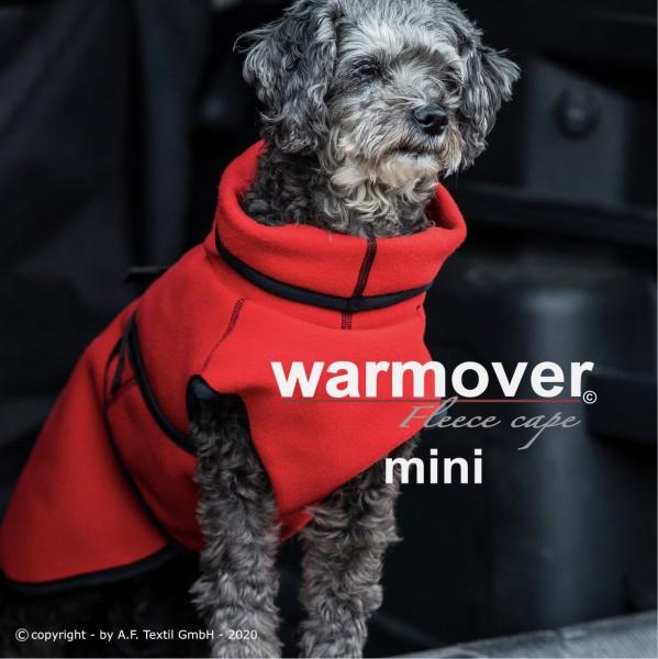 Warmover fleece cape red fire Mini