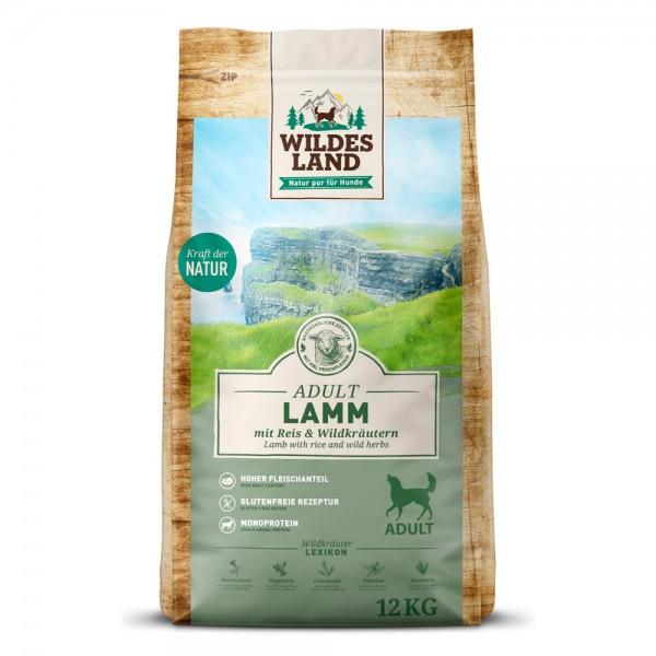 Lamm mit Reis & Wildkräutern
