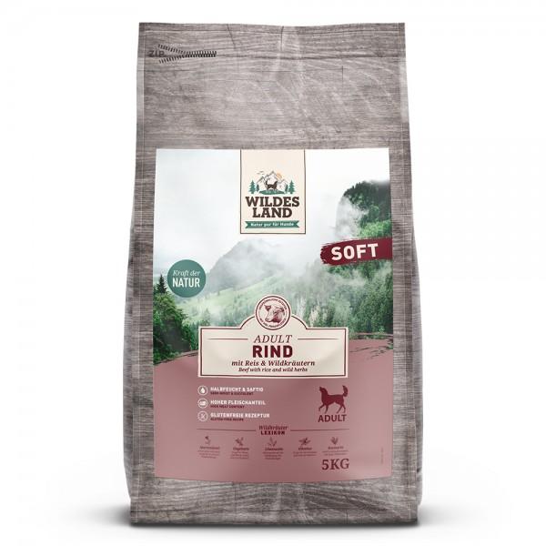 Soft Rind mit Reis & Wildkräutern