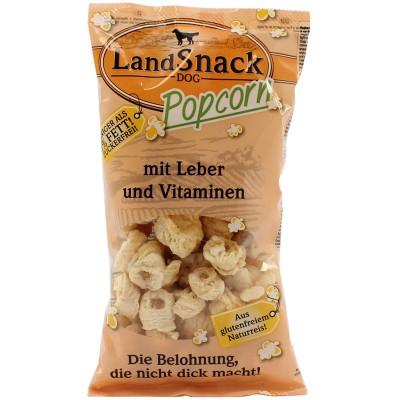 LandSnack Hunde Popcorn mit Leber & Vitaminen