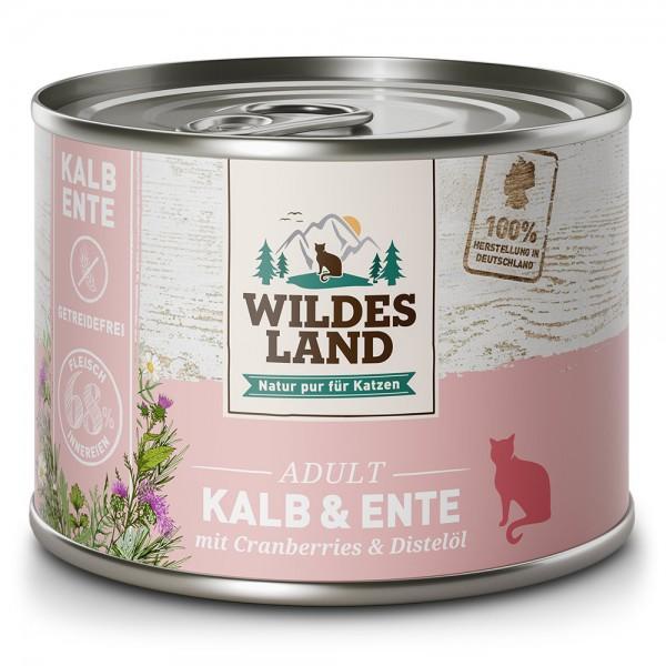 Kalb & Ente mit Cranberries und Distelöl