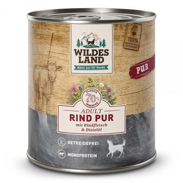 Wildes Land PUR Adult - Rind mit Distelöl