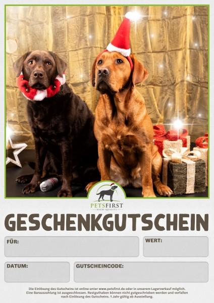 Petsfirst Geschenkgutschein (per Download nach Zahlungseingang)