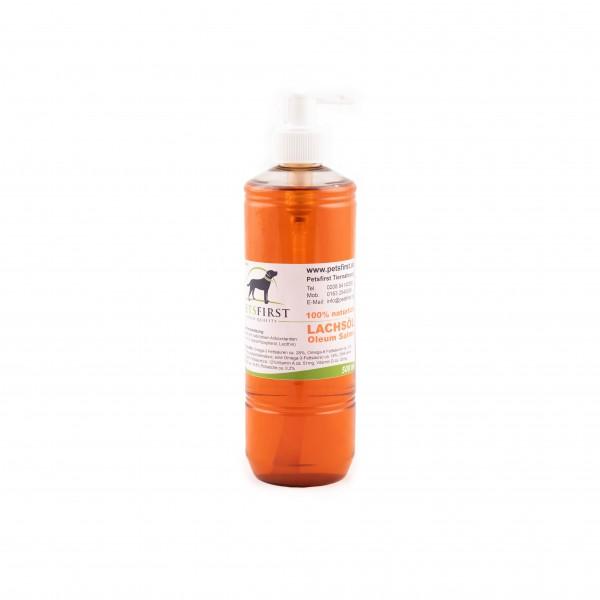 Lachsöl 500ml, in der praktischen Pumpflasche