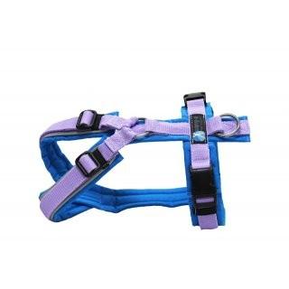 anny x Brustgeschirr FUN reflectiv lichtblau/flieder Limited Edition Gr. S
