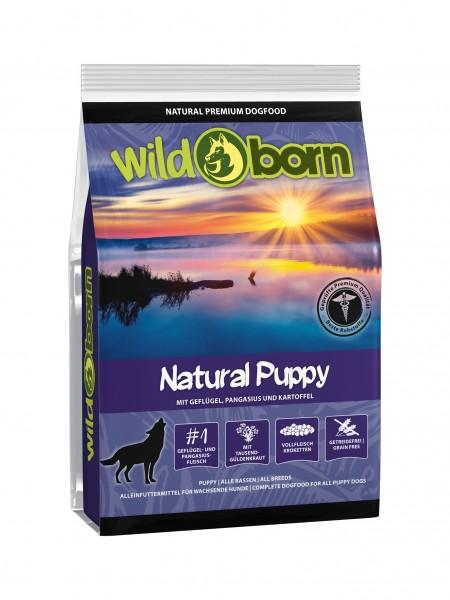 Wildborn Natural Puppy mit Geflügel und Pangasius