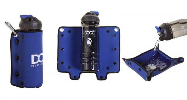 DOOG 3.in-1 Water Bottle mit faltbarem Napf