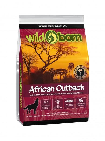 Wildborn African Outback (Strauß, Kartoffel und Früchte)