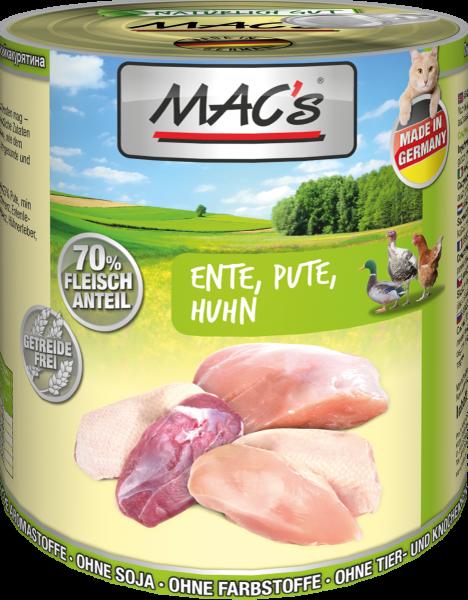MAC`s Cat Ente/Pute/Huhn 6er Paket